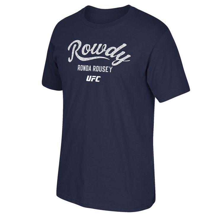 Ronda Rousey UFC Reebok Rowdy Established T-Shirt - Blue