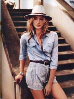 Denim, can't get enough of it. http://www.alibionline.com.au: Blue Chambray, Chambray Shirts, Products