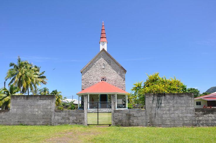 Tautira på Tahiti i Fransk Polynesia