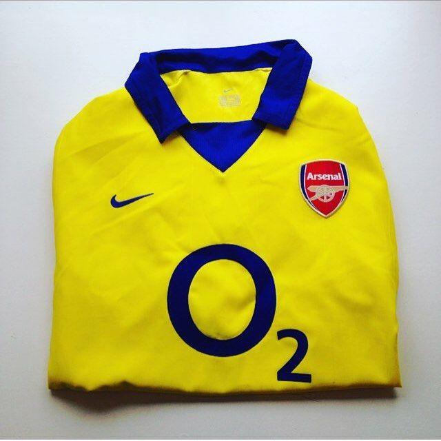 26e11f7b Invincibles away shirt. Arsenal 2003/04 away shirt - link in bio #Arsenal  #arsenalfc #afc #gunners #arsenalshi… | Retro Vintage Arsenal football  shirts ...
