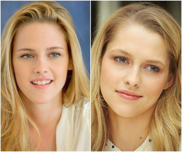 Pairing #4- Kristen Stewart & Teresa Palmer. When they are both blonde they can play sisters.