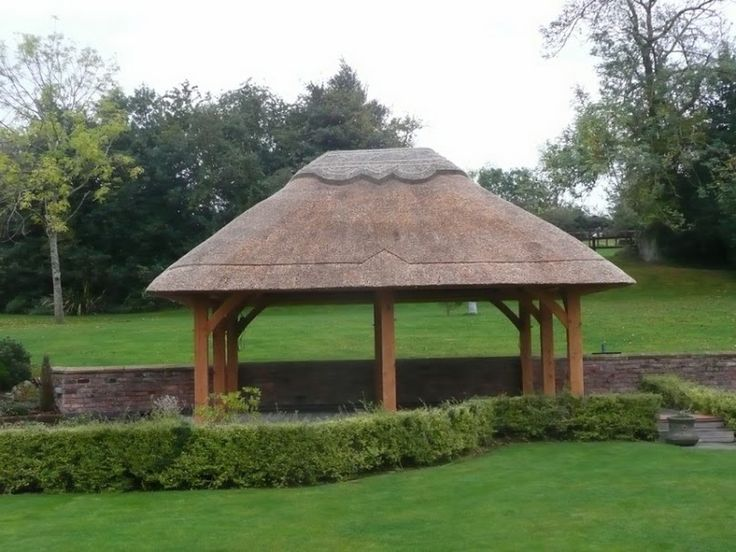 909 best images about pergola gazebo design ideas on for Thatched house plans
