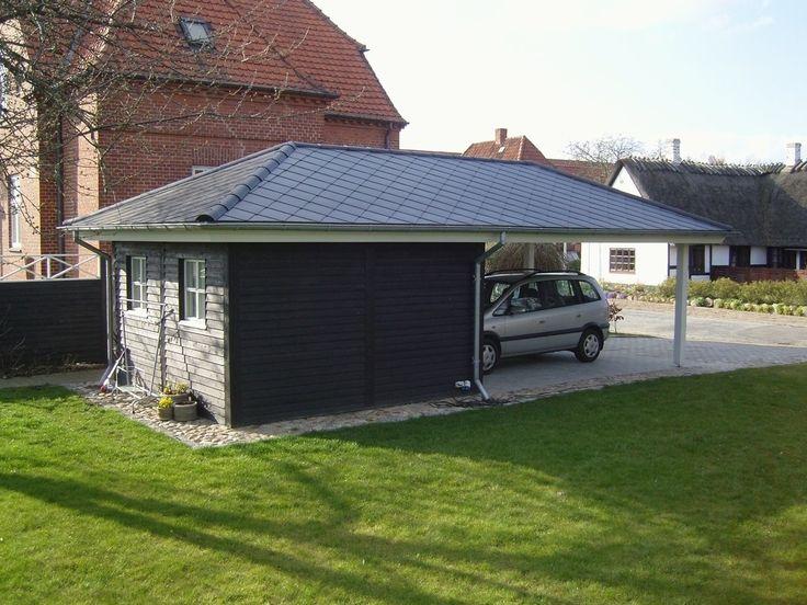 22 best carport images on pinterest garage carriage for Carport flensburg
