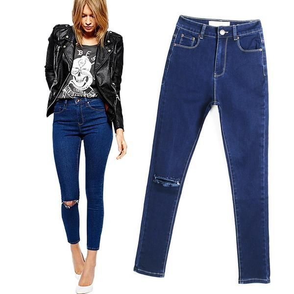 Item Type: JeansGender: WomenFit Type: SkinnyDecoration: VintageJeans Style: Pencil PantsWaist Type: MidFabric Type: SoftenerMaterial: Cotton,Polyester,SpandexLength: Full LengthClosure Type: Zipper FlyWash: Light,ColoredModel Number: LC5036Dropshipping: Yes