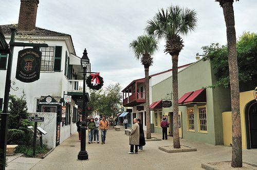 St Augustine Florida, Spanish Quarter
