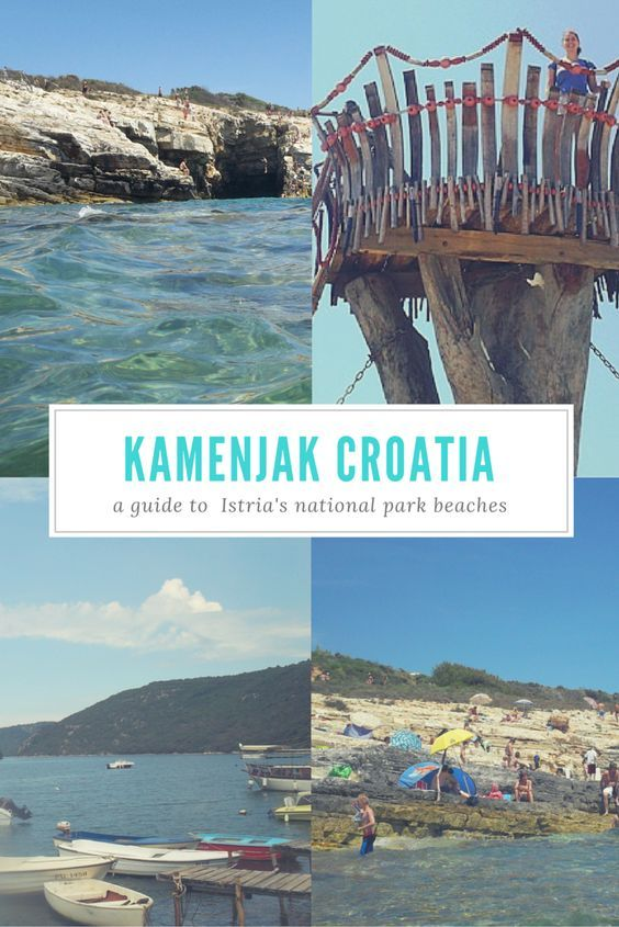 Kamenjak National Park in Croatia makes a great daytrip to the beach in Istria.: