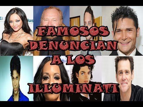 FAMOSOS DENUNCIAN A LOS ILLUMINATI - YouTube