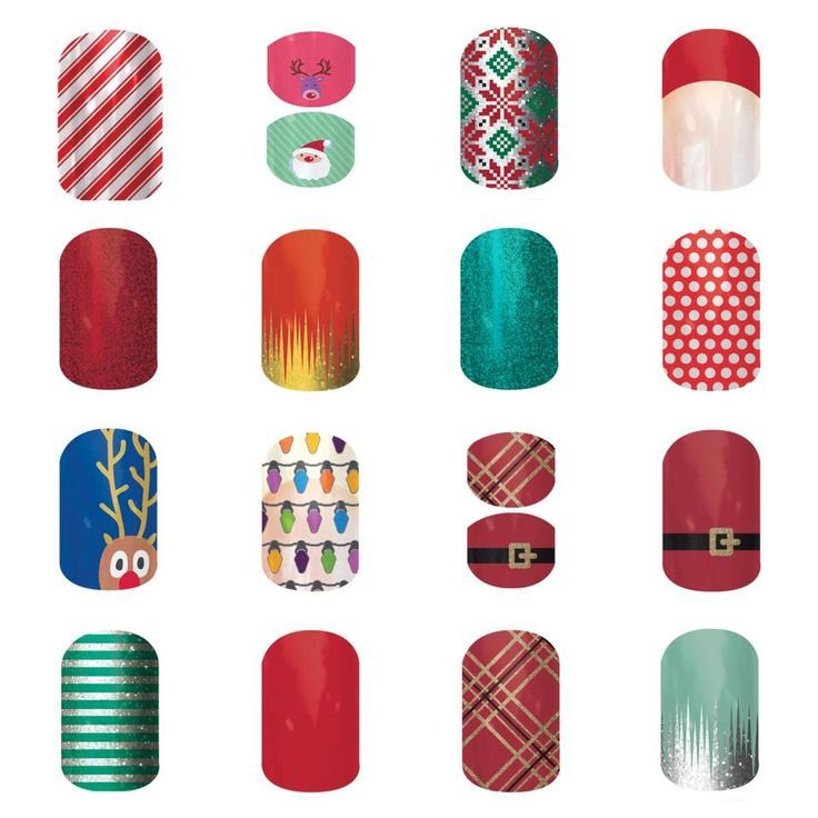 Jamberry Nails Christmas/Holiday wraps  Purchase your fashionably festive wraps at http://MandiWelbaum.JamberryNails.net