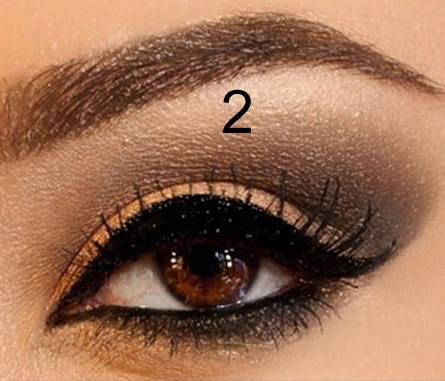 I just learned how to create Smokey Eyes for a Night Out Slide #2 on @DailyGlow!