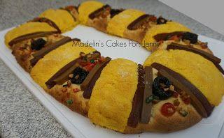 Madelin's Cakes: Rosca De Reyes Con Lechera y Rellena
