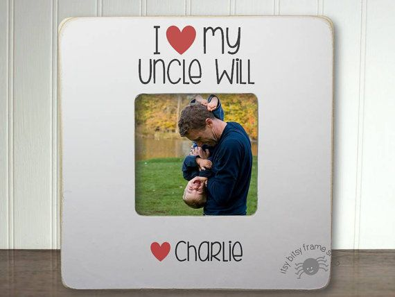 Surprise a special uncle with a picture they treasure displayed in this lovely keepsake frame. Our I Love My Uncle frames are lovingly and