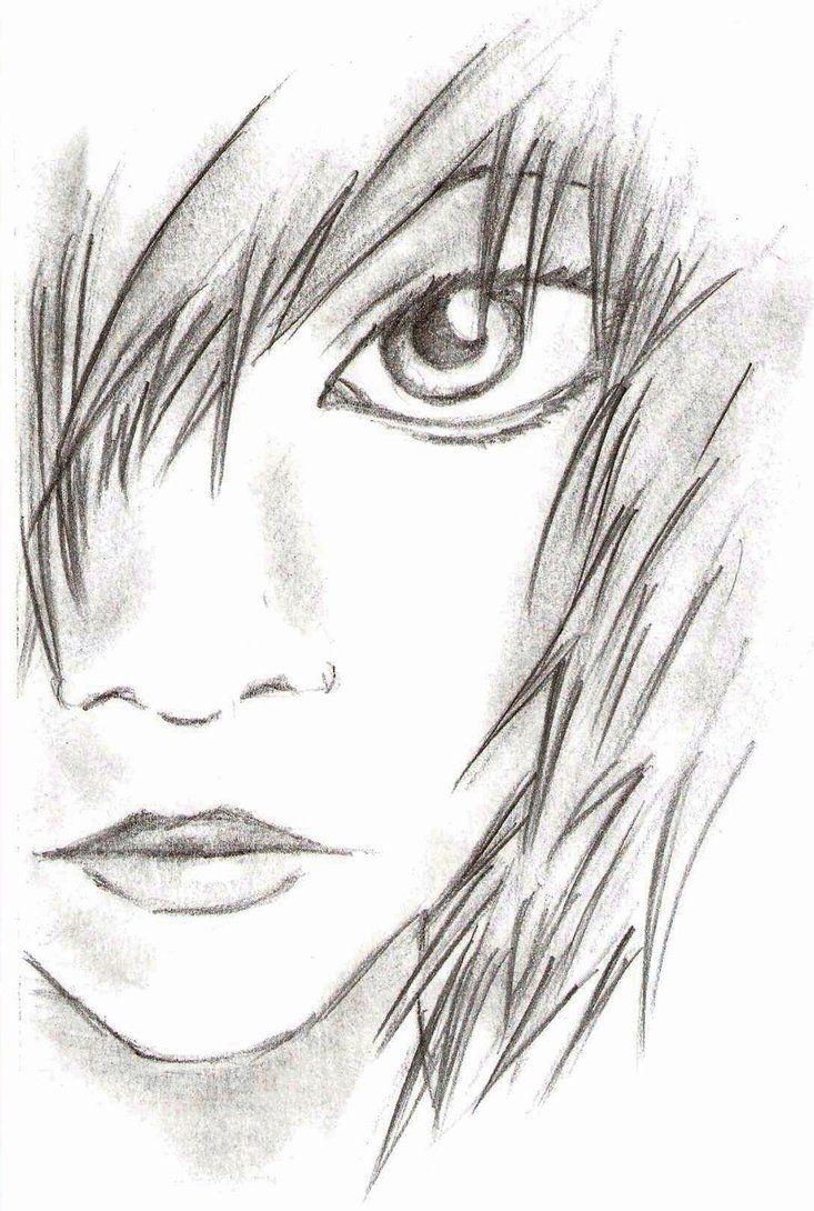 Anime Girl Drawing DrawingSomeonecom