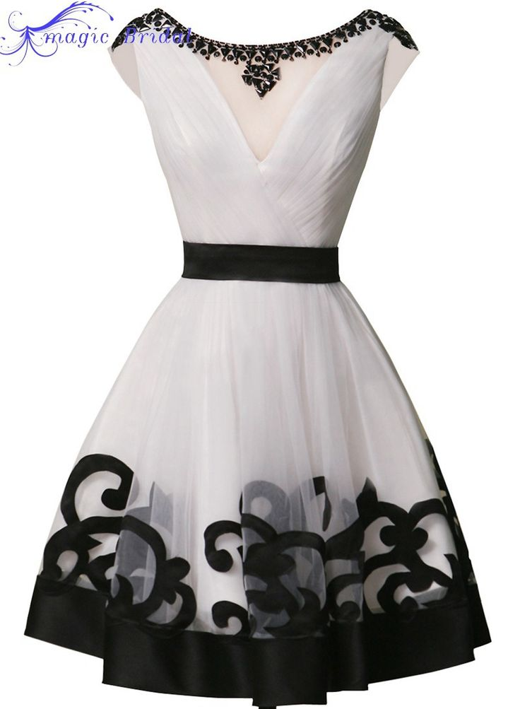 Las 25 Mejores Ideas Sobre Vestidos En Blanco Y Negro En