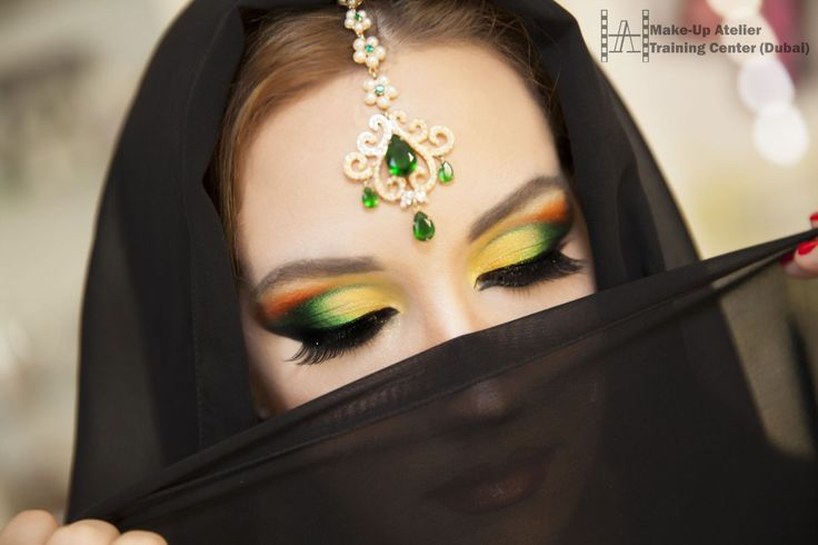 Arabic Makeup Course   Professional Course In Dubai   Makeup Course