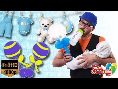 Decorazione Battesimo - Sonaglio con Palloncini - Baby Shower decoration - Tutorial 152 - YouTube Baby Shower Decoration Balloon - Sonaglio con palloncini - decorazione per battesimo. www.festecompleanni.com