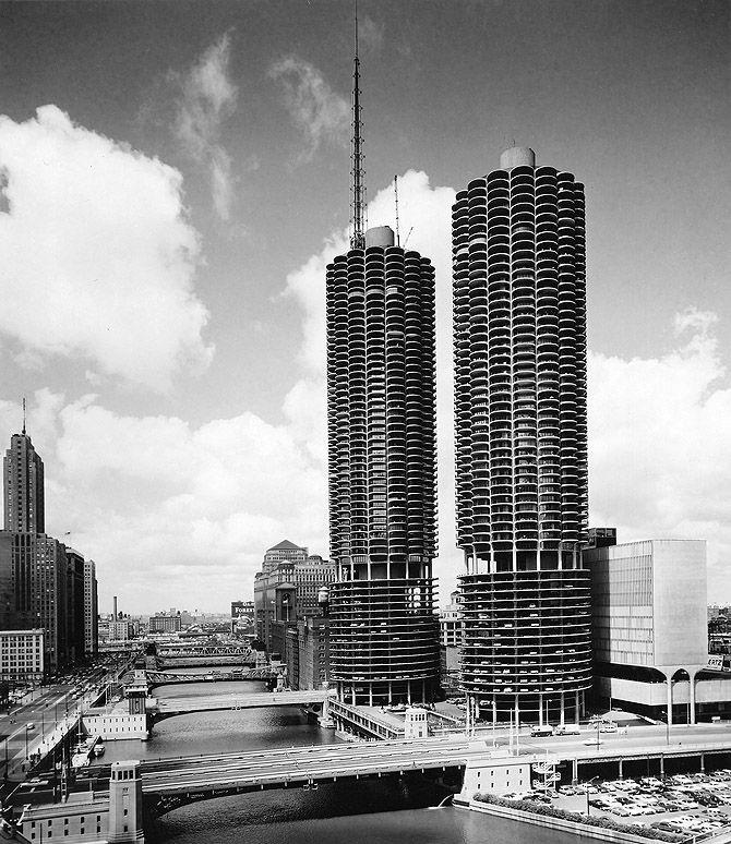 Marina City, Bertrand Goldberg 1964