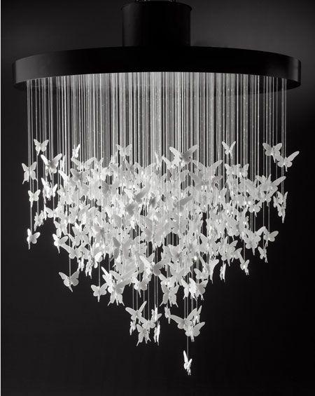 Niagara chandelier by Bodo Sperlein