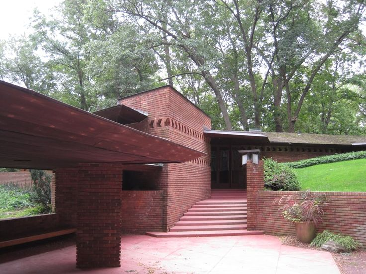 17 best images about frank lloyd wright usonian homes on for Palmer house ann arbor