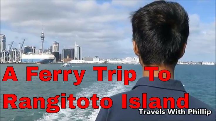 A Ferry Trip To Rangitoto Island