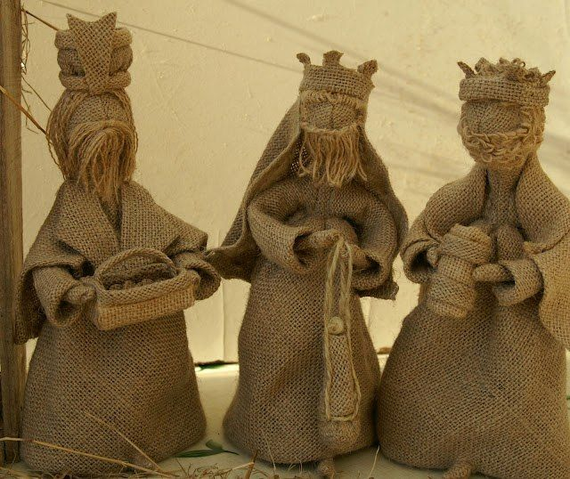Чудесные куклы из мешковины. Обсуждение на LiveInternet - Российский Сервис Онлайн-Дневников