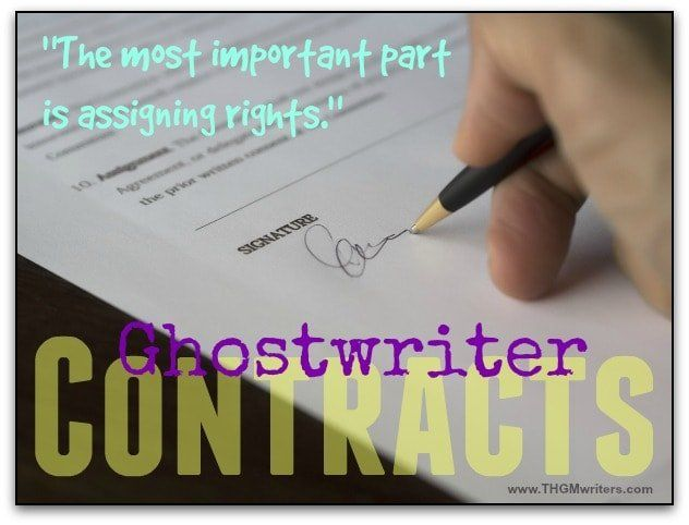 So you want to hire a ghostwriter? Here is what you need to know before signing a contract.