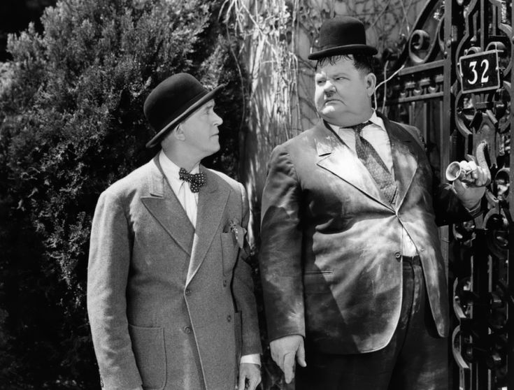 Laurel and Hardy ~ The Big Noise