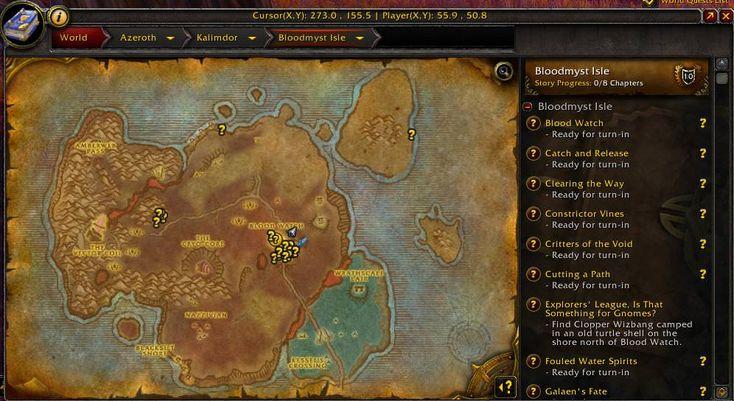 Why I love Bloodmyst Isle #worldofwarcraft #blizzard #Hearthstone #wow #Warcraft #BlizzardCS #gaming