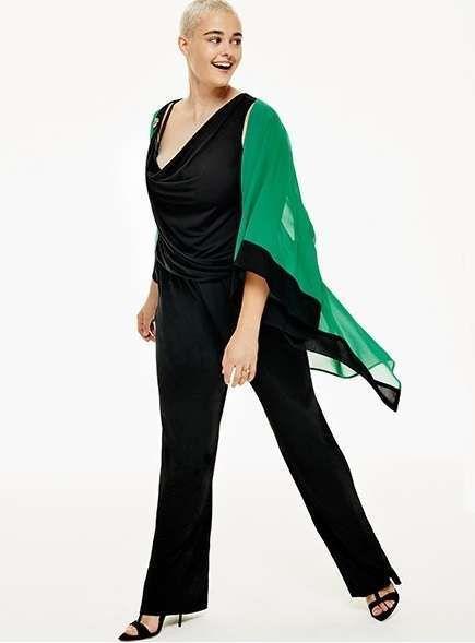 Abiti Da Sera Fiorella Rubino.Abiti Da Cerimonia Con Pantaloni Per Taglie Forti Stile Di Moda