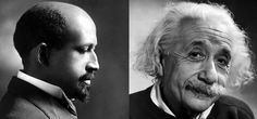 """""""Professor Einstein is not a mere mathematical mind. He is a living being, sympathetic with all human advance… and he hates race prejudice because as a Jew he knows what it is."""""""