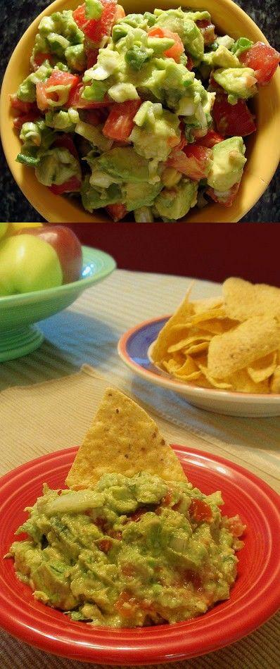 Recipe | Ole! Gregarious Party Guacamole :: #party #appetizer #dip