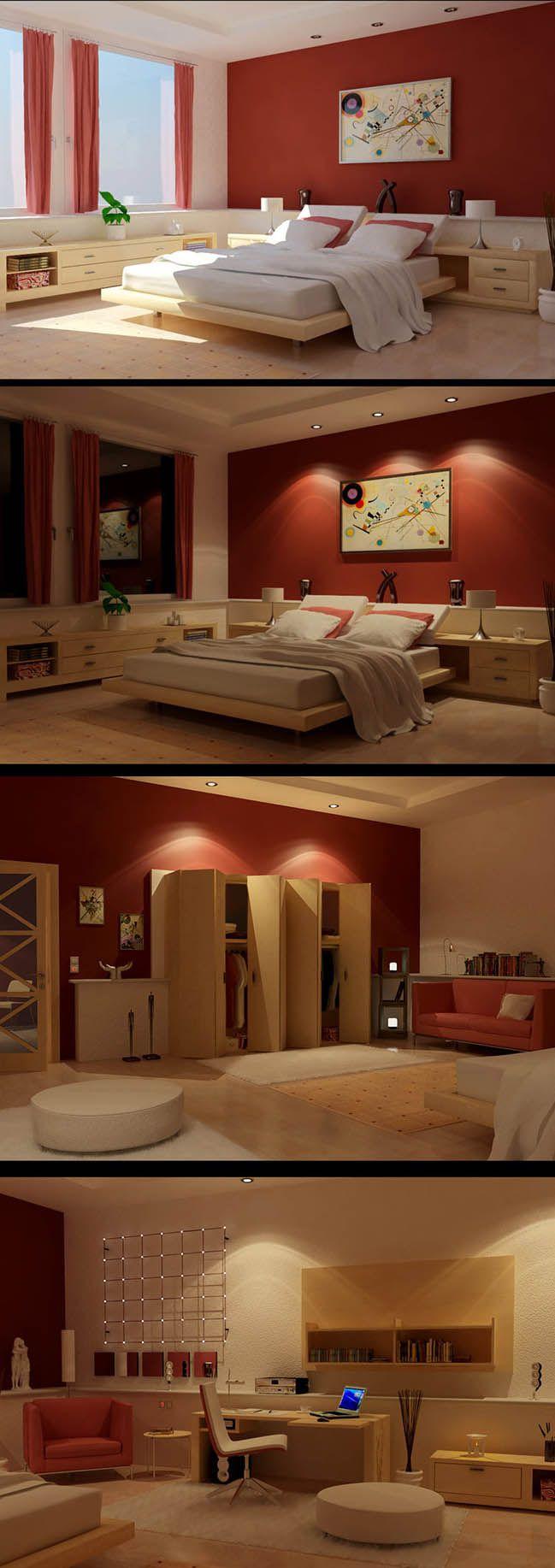 schlafzimmer rot schlafzimmer design rosa schlafzimmer schlafzimmerdesign schlafzimmer ideen kastanienbraunes schlafzimmer rote innenarchitektur - Schlafzimmerideen Der Mnner Rot