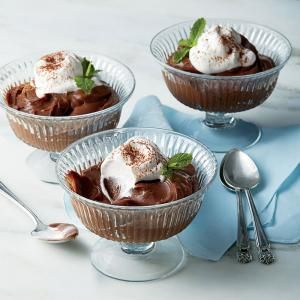 Chocolate-Buttermilk Pudding | MyRecipes.com  This classic pudding is thick, rich, and delectable.