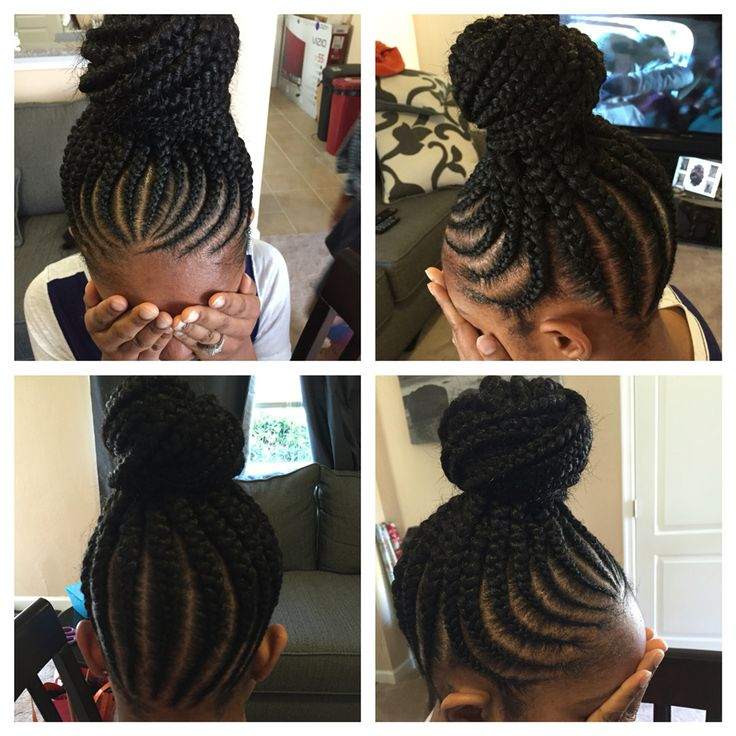 No knot feed in cornrows | Braids and more | Pinterest ...