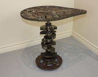 Table metal art