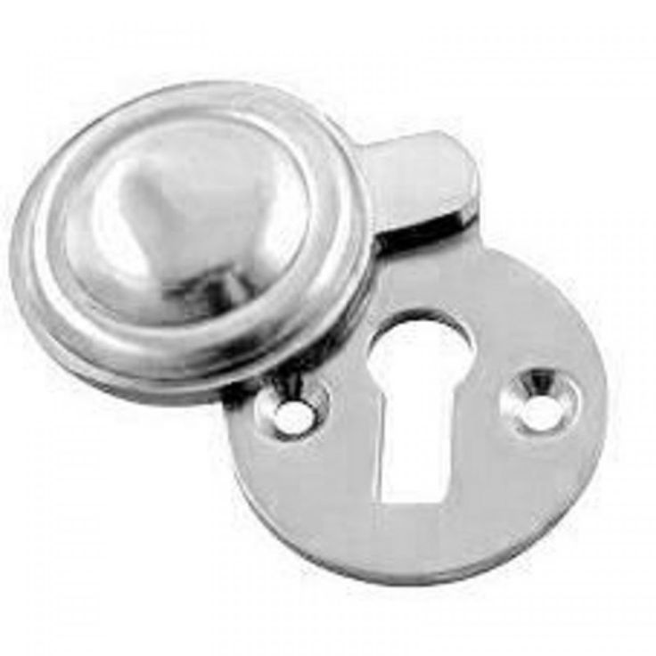 35mm Victorian Round Covered Escutcheon - Polished Chrome £1.48  sc 1 st  Pinterest & 35 best Door Furniture Escutcheons images on Pinterest | Door ...