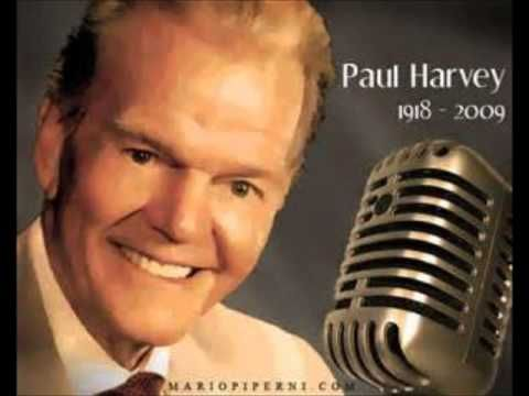 paul harvey the rest of the story where do those old sayings come from