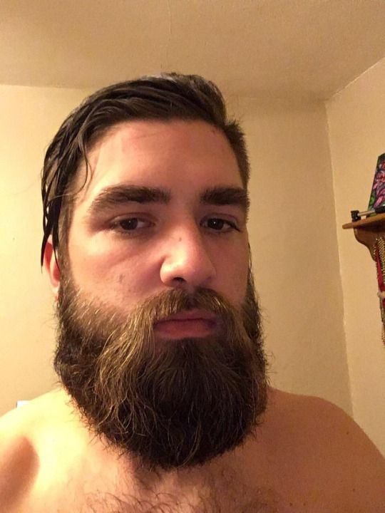 full thick dark beard mustache beards bearded man men bearding hairy chest #bearding