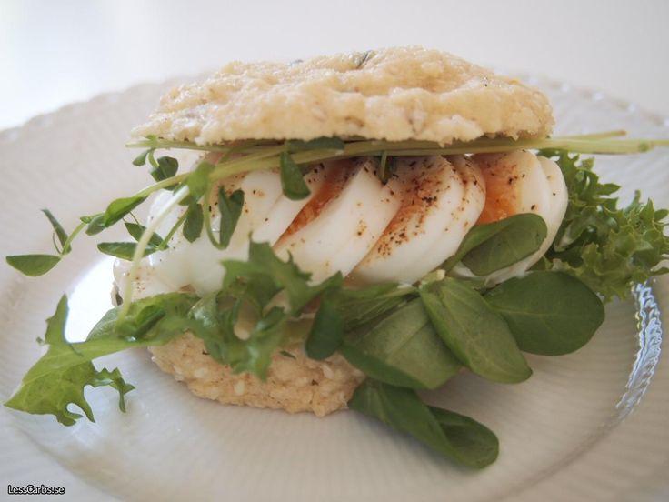 Glutenfritt lchf-microbröd med frön