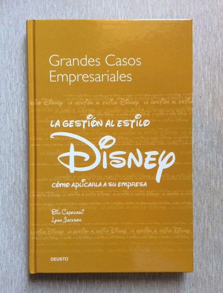 GRANDES CASOS EMPRESARIALES La Gestión Al Estilo DISNEY Capodagli Hardcover Book #Textbook