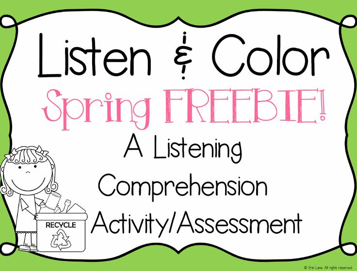 Try out Listen and Color in your classroom for FREE! Students LOVE this interactive listening skills activity and they will be asking for more! - repinned by @PediaStaff – Please Visit ht.ly/63sNt for all our pediatric therapy pins