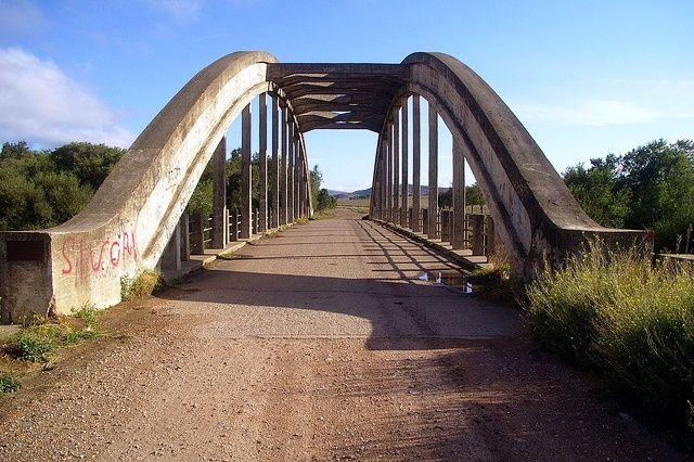 Puente en Sierra de la Ventana (Argentina)