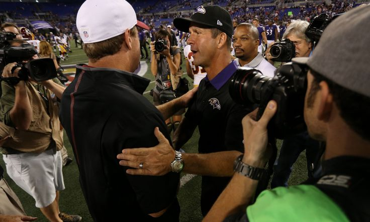 Redskins' Jay Gruden downplays past altercation with Ravens' John Harbaugh