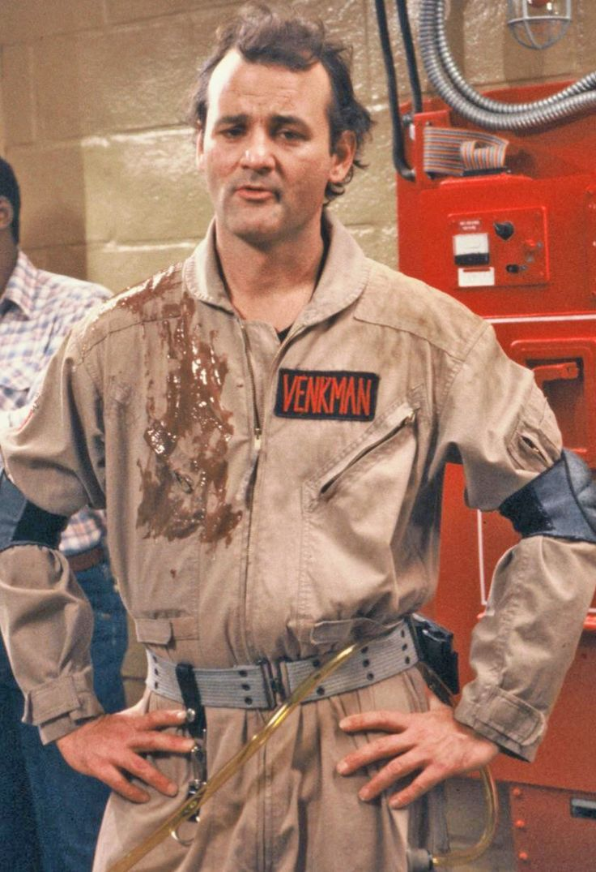 Bill Murray as Peter Venkman in #Ghostbusters (1984)