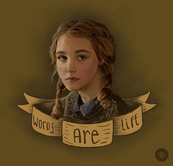 best the book thief ideas the book theif quotes  the book thief liesel by steph harrison via behance isn t this