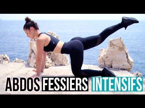 ABDOS FESSIERS INTENSIFS SANS SAUTS (Full training 25min) - YouTube
