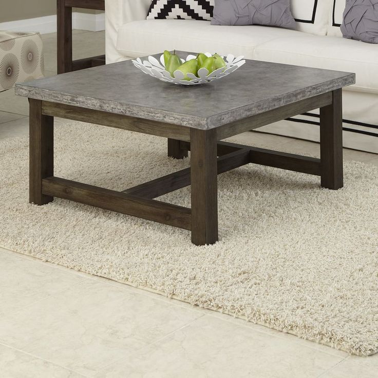 Best 25 Concrete Coffee Table Ideas On Pinterest Making Concrete Countertops Outdoor