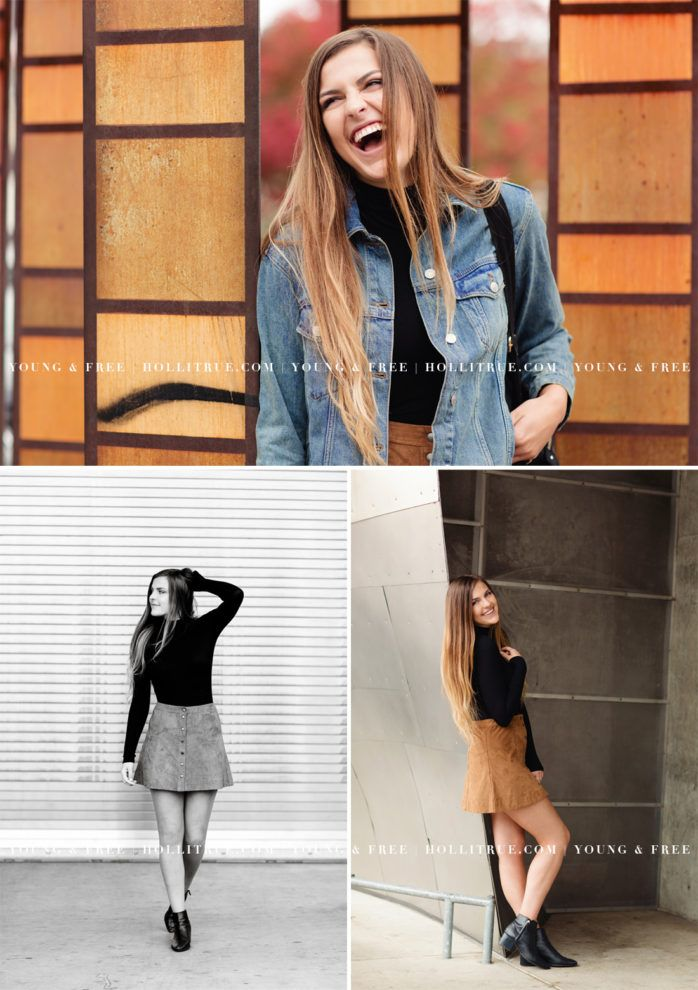 Urban-Inspired Senior Session bei Click Away in Seattle