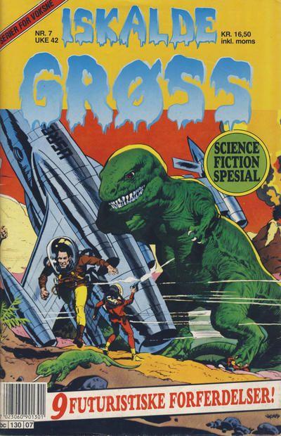 Cover for Iskalde Grøss (Semic, 1982 series) #7/1991