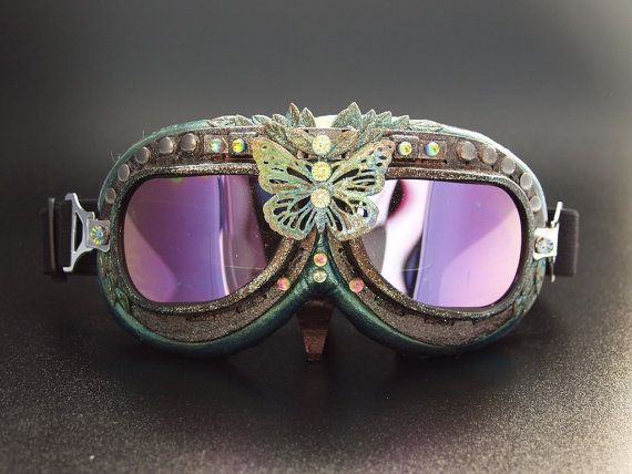"Burning Man Goggles ~ ""Mother Earth"""