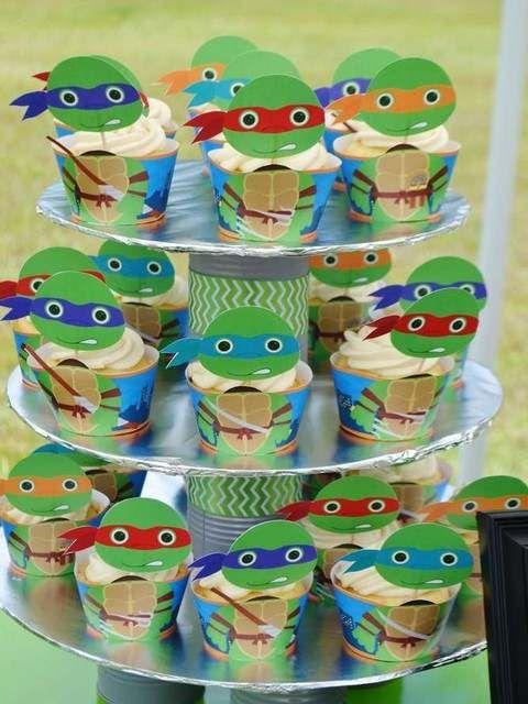 Las 25 mejores ideas sobre fiesta de tortugas ninjas en - Ideas cumpleanos infantiles ...